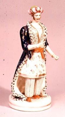 Theatrical figure by John Lloyd of Shelton, c.1840