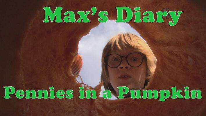 Max's Diary Pennies in a Pumpkin