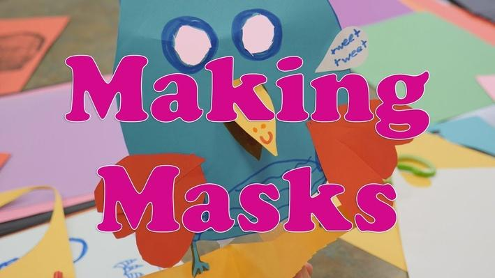 Read a Good Book: Making Masks | KIDS Clubhouse Adventures