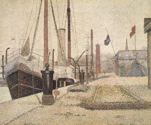 La Maria at Honfleur, 1886