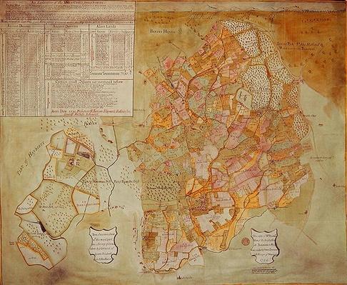 Fecknam Manor, Worcester, 1744