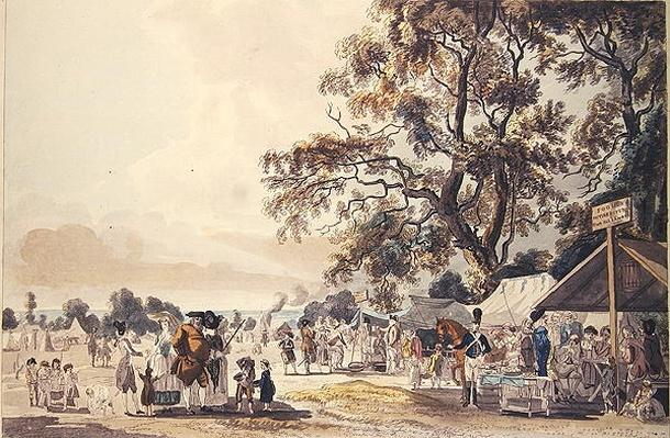 The Encampment in Hyde Park, 1780