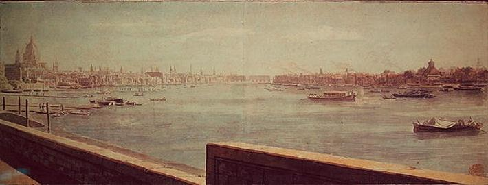 View of the Thames, London