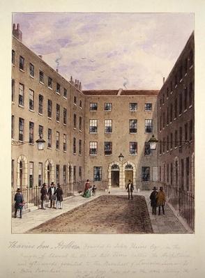 Travies' Inn, Holborn, 1858
