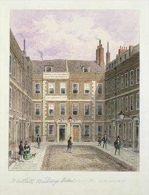 Bartlett's Buildings, Holborn, 1838
