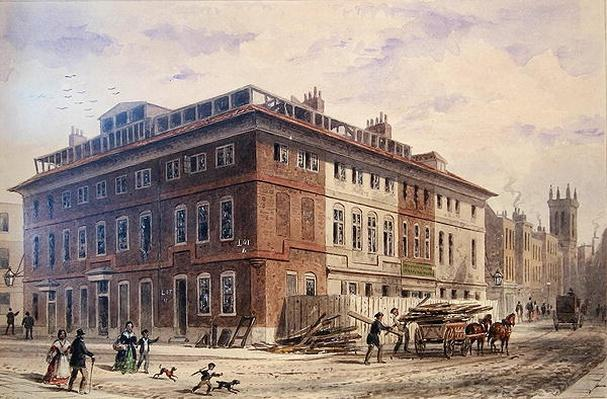 Old House in New Street Square, South East Front