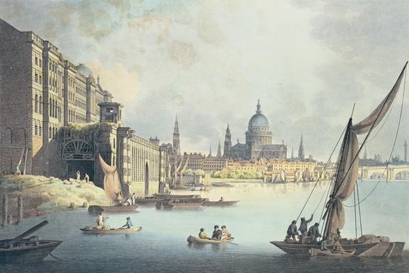 View of Somerset House and the Thames, 1796