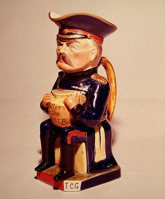 Lord Kitchener toby jug, crafted by Wilkinson, 1915