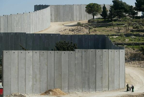 The Israeli Seperation Barrier   Palestine-Israel Conflict