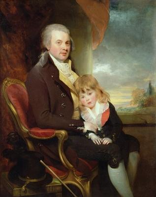 Edward George Lind and his Son, Montague,