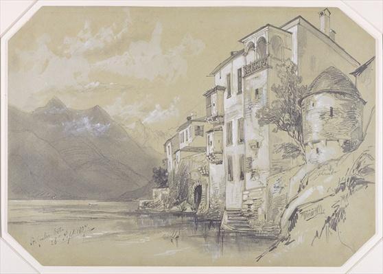 St. Giulio, Orta, 26 September 1837, 1837