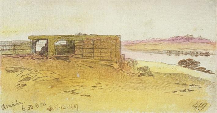 Amada, 6:50am, 12 February 1867,