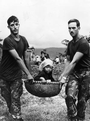 Carried To Safety | Vietnam War