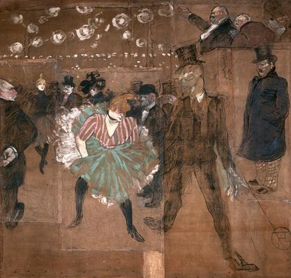 Dancing at the Moulin Rouge: La Goulue