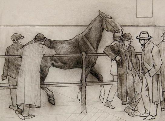 Horse Dealers, c.1918