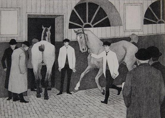 The Horse Mart. c.1918