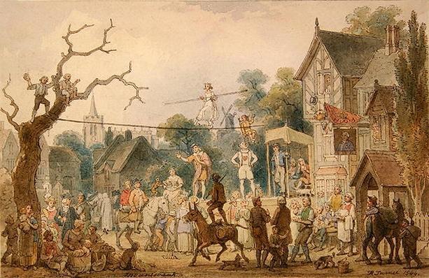 Mountebank, 1844