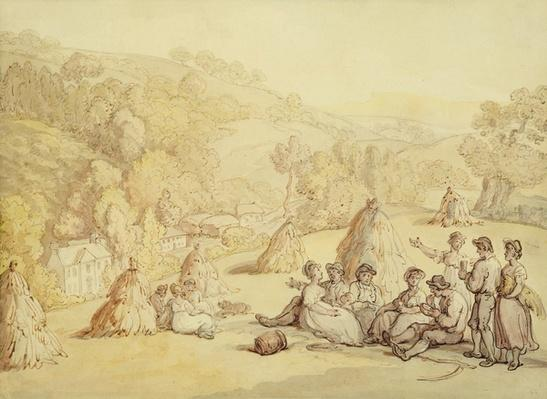 Harvesters Resting in a Corn Field, c.1805-10