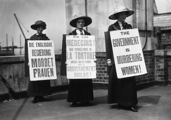 Sandwich Women | Women's Suffrage | U.S. History