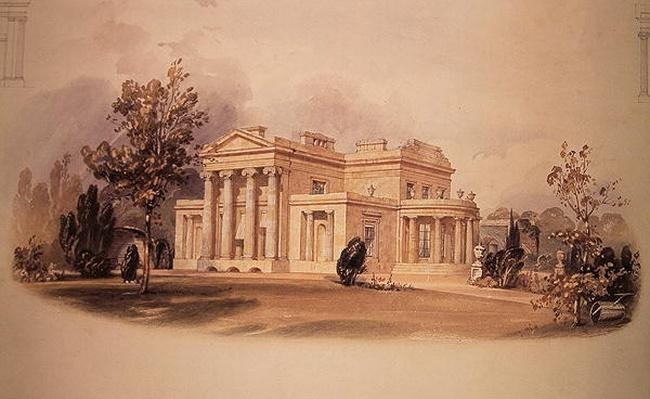 George B. Greenough's villa in Regent's Park, London