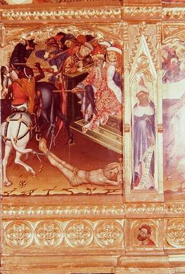 St. George altarpiece, Valencia, c.1420