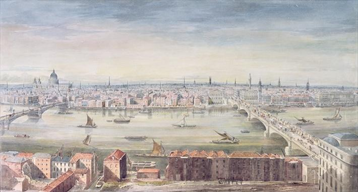 A View of London from St. Paul's to the Custom House, 1837