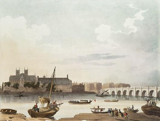 View of Westminster and the Bridge