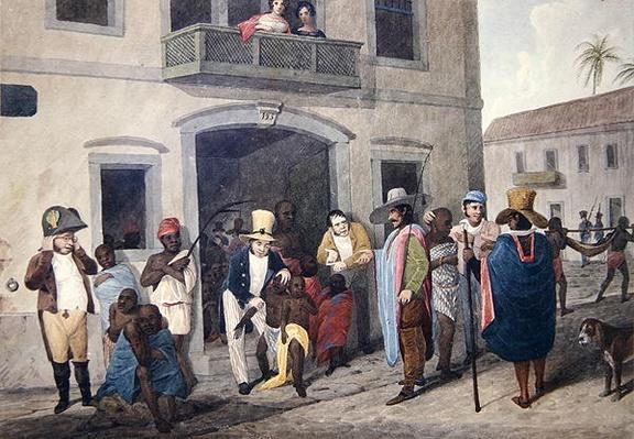 Slaves in Brazil