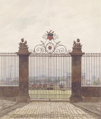 London scene, 1815