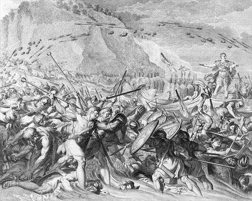 The Landing of Julius Caesar in England in 55 BC