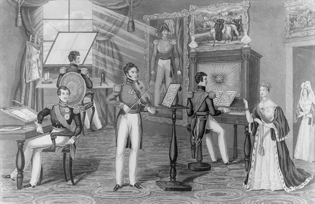 The Wonder of Windsor: The Artist, Poet, Fiddler, Here We See, And all is Tweedle-dum and Tweedle-dee, c.1841