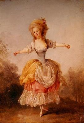Dancer in Louis XVI costume