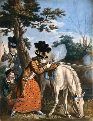 The Ladies' Shooting Poney, 1780