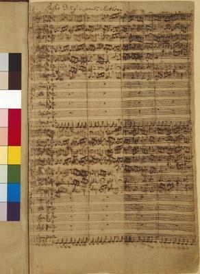 Passio Domini nostri J.C. secundum Evangelistam MATTHAEUM BWV 244, 1730s
