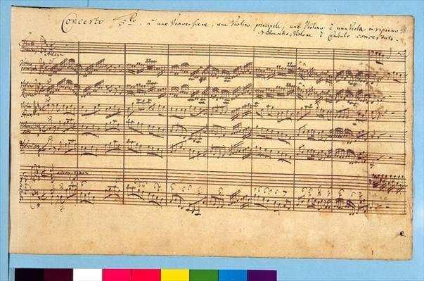 The Brandenburg Concertos, No.5 D-Dur, 1721