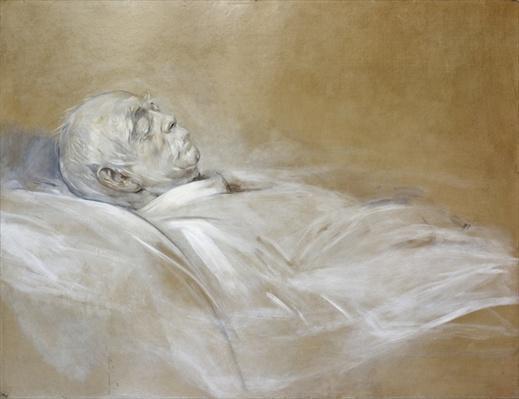 Prince Otto von Bismarck on his Death Bed, 1898
