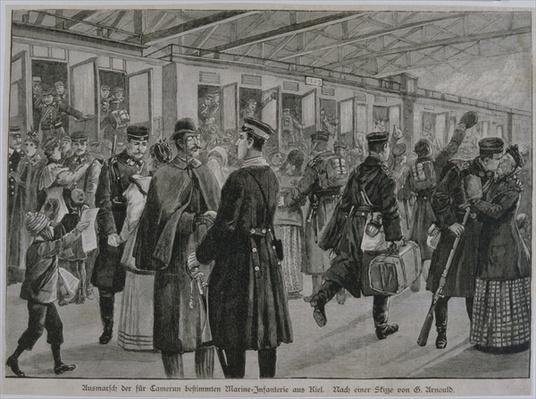 The Deployment of Kiel's Royal Marines to Cameroon