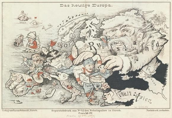 'Today's Europe', 1887