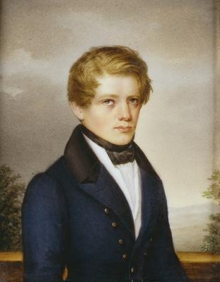 Otto von Bismarck as a Student, 1833