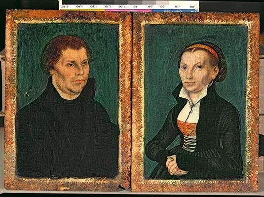 Martin Luther, Katharina von Bora, c.1526