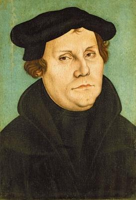Luther as Professor, 1529