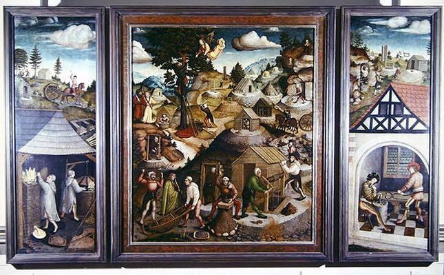 Mining landscape, 1521