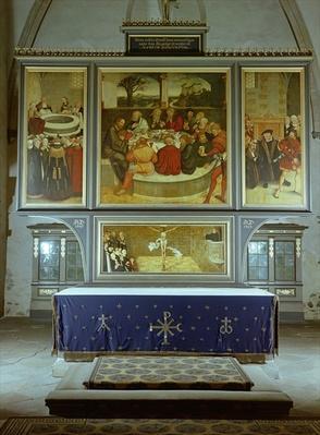 Reformation Altarpiece, 1547