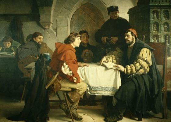 Luther at the 'Schwarzen Baeren' in Jena, 1873