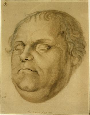 Posthumous Portrait, Martin Luther, 1546