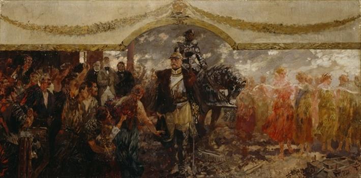 The People Render Homage to Bismarck, 1911