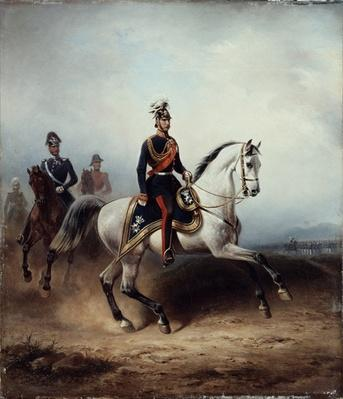 Frederick III Wilhelm on the Bornstedter Field, 1858