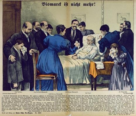 Bismarck's Death in Friedrichsruh on the 30th July, 1898