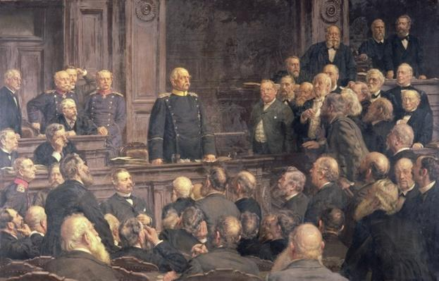 Conference of the German Reichstag on the 6th February 1888, 1896