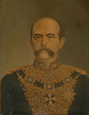 Prince Otto von Bismarck in Diplomat's Uniform, c.1865